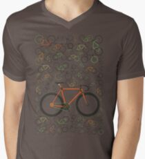 Fixed gear bikes Men's V-Neck T-Shirt