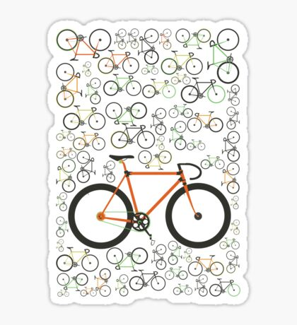Fixed gear bikes Sticker