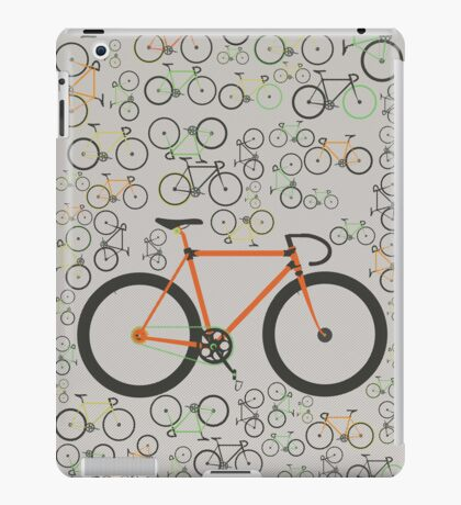 Fixed gear bikes iPad Case/Skin