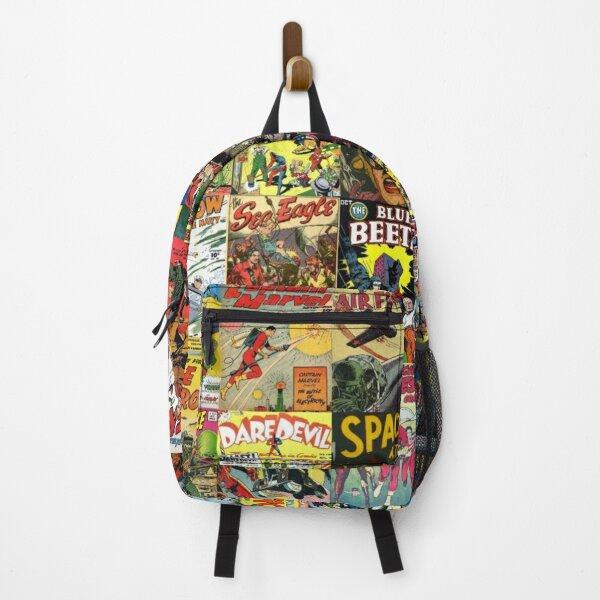 Comic Book Collage II Backpack