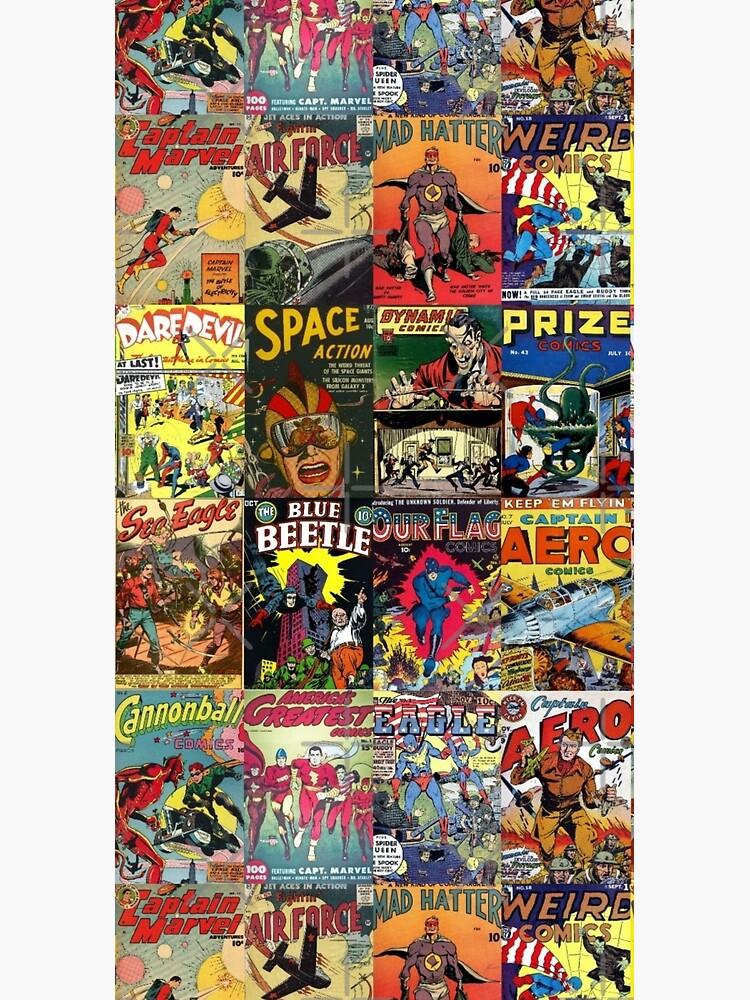 Comic Book Collage II by BrambleBox