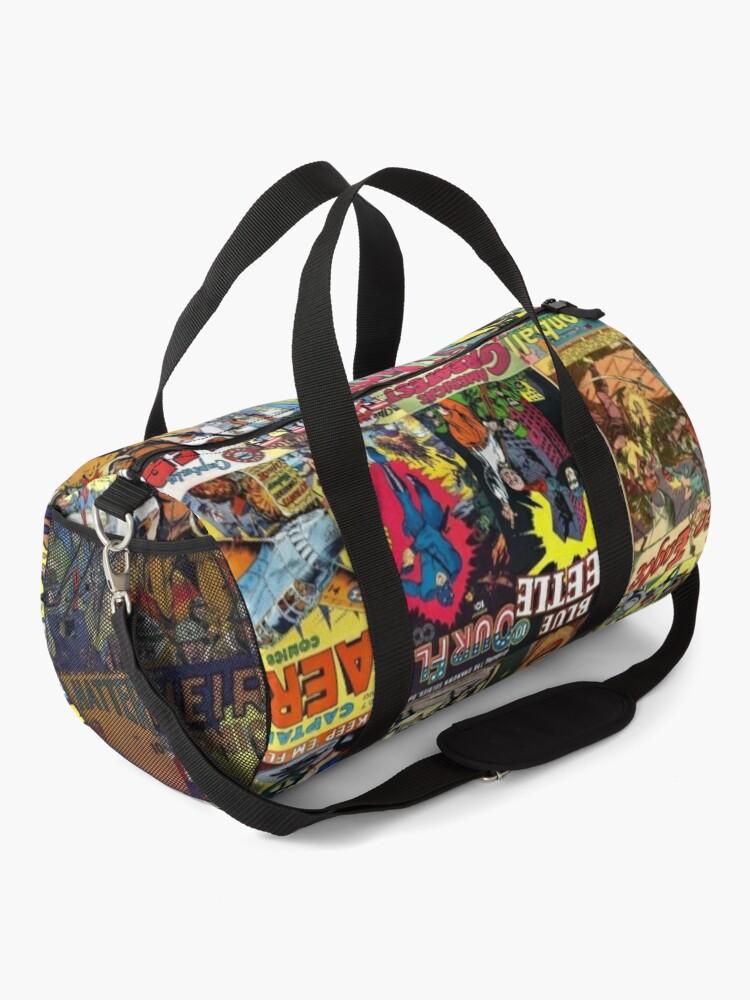 Alternate view of Comic Book Collage II Duffle Bag