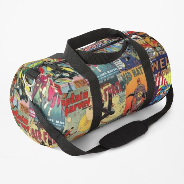 Comic Book Collage II Duffle Bag
