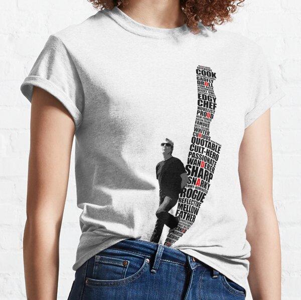 Anthony Bourdain Knife Design Classic T-Shirt