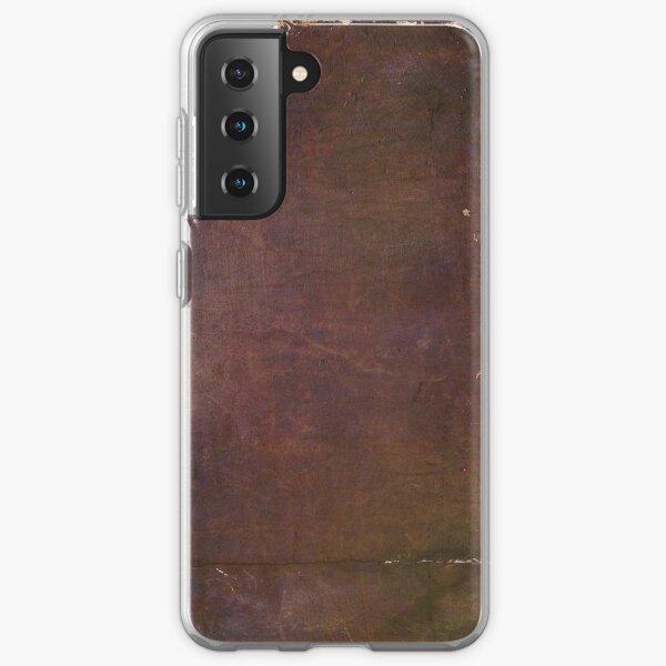Leather Texture Samsung Galaxy Soft Case