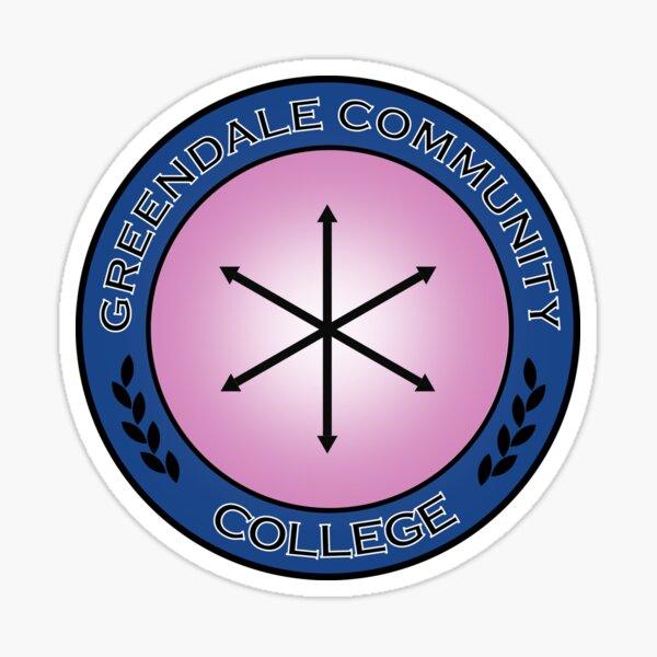 Community - Greendale Badge  Sticker