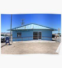 Post Office - Baker, California Poster