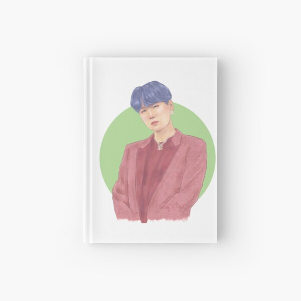 BTS SUGA Hardcover Journal