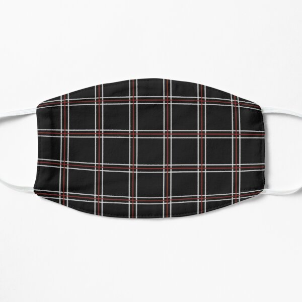 Shujin Plaid  Flat Mask