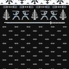 Silent Nigh-NINJA! Winter Sweater by SevenHundred