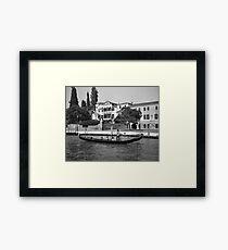 Gondola, Venice Framed Print