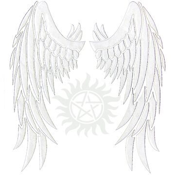 Supernatural Wings And Logo by jessiejade95