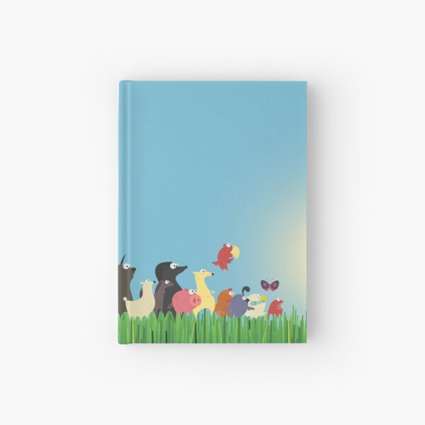 What's happening on the farm? Kids collection Hardcover Journal