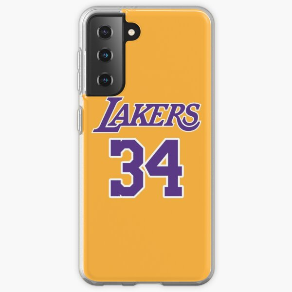 Shaquille O'Neal Los Angeles Lakers Jersey Coque souple Samsung Galaxy