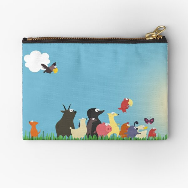 What's happening on the farm? Kids collection Zipper Pouch