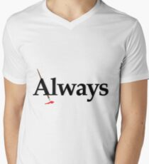Always Castle Men's V-Neck T-Shirt