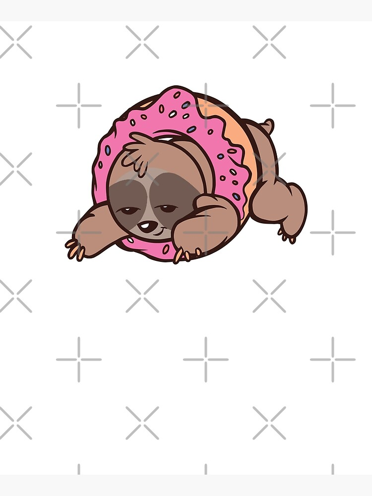 SLOTH DONUT by iBruster