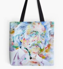 MARK TWAIN - watercolor portrait Tote Bag