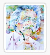 MARK TWAIN - watercolor portrait Sticker