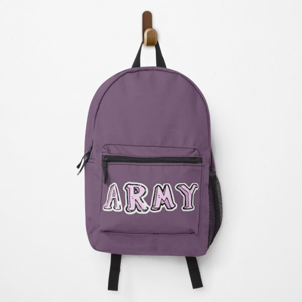 bangtan sonyeondan army purple design Backpack