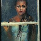 Black Girl at a Window by Jann Ashworth
