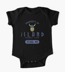Iceland Hockey Baby Body Kurzarm