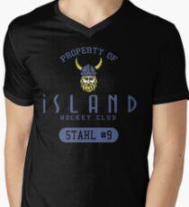 Iceland Hockey Men's V-Neck T-Shirt