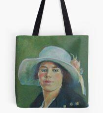 Grandmother in pastels Tote Bag