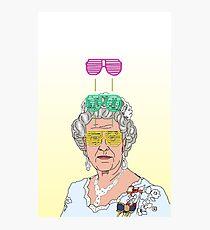 Cool Down - Queen Elizabeth II Photographic Print