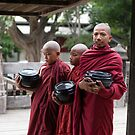 Novices at Nat Taung Kyaung by Mark Prior