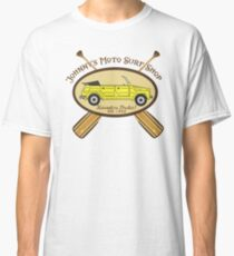 Johnny's Moto Surf Shop Classic T-Shirt
