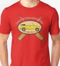 Johnny's Moto Surf Shop Unisex T-Shirt