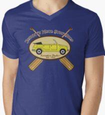 Johnny's Moto Surf Shop Men's V-Neck T-Shirt