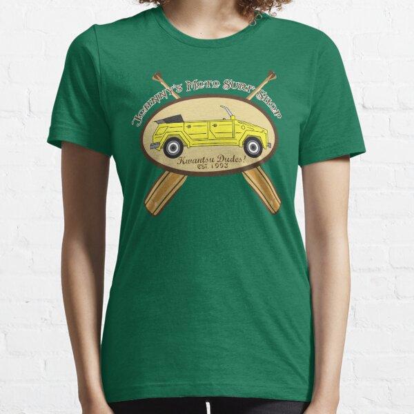 Johnny's Moto Surf Shop Essential T-Shirt