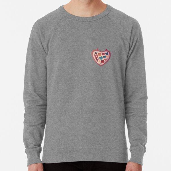 90s Makeup Lightweight Sweatshirt