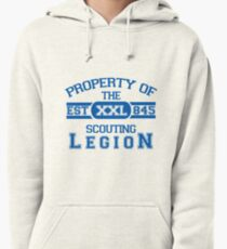 Attack on Titan - Sports Theme! Property of The Scouting Legion. ver 2 Pullover Hoodie