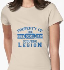 Attack on Titan - Sports Theme! Property of The Scouting Legion. ver 2 Women's Fitted T-Shirt