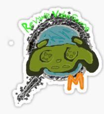 Video Game review mech Sticker