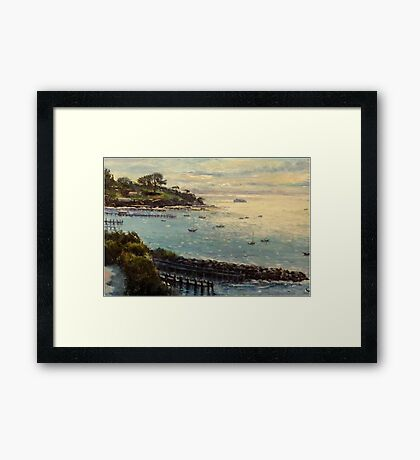 Sorrento, Mornington Peninsula, Victoria, Australia Framed Print