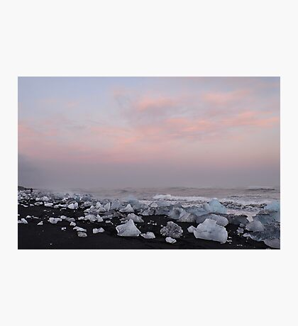 Ice Beach Photographic Print