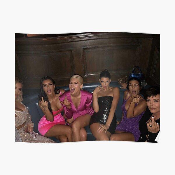 Kardashians middle finger Poster