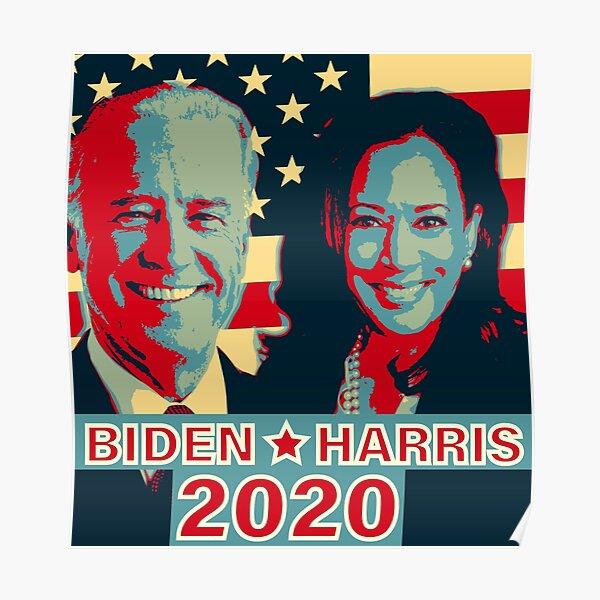 Joe Biden Kamala Harris 2020 Poster