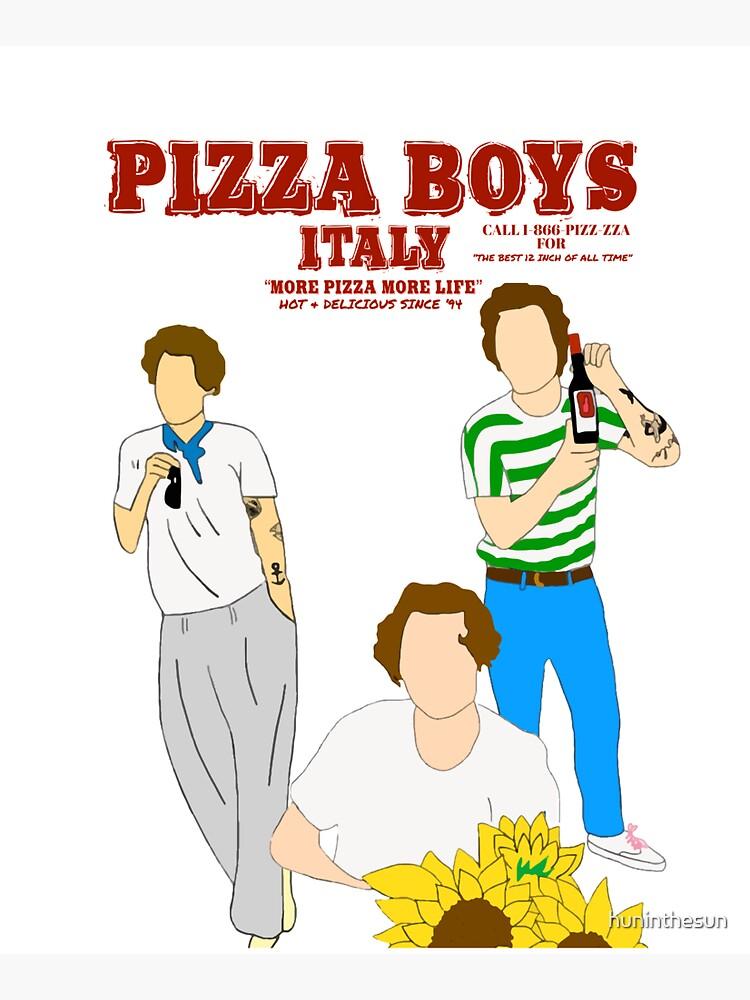 PIZZA BOYS by huninthesun