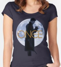 Captain Hook/Killian Jones - Once Upon a Time Women's Fitted Scoop T-Shirt
