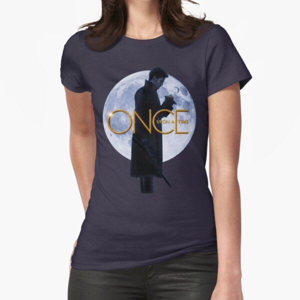 Captain Hook/Killian Jones - Once Upon a Time Fitted T-Shirt