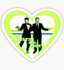 Justin and Jimmy Sticker