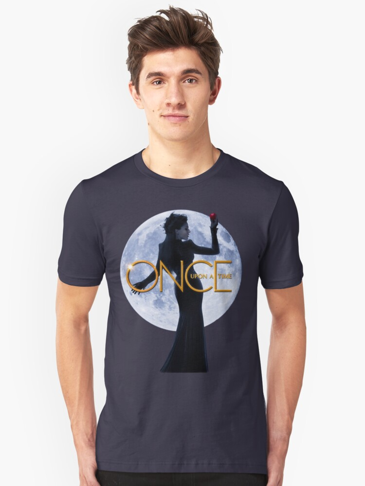 The Evil Queen/Regina Mills - Once Upon a Time Unisex T-Shirt Front