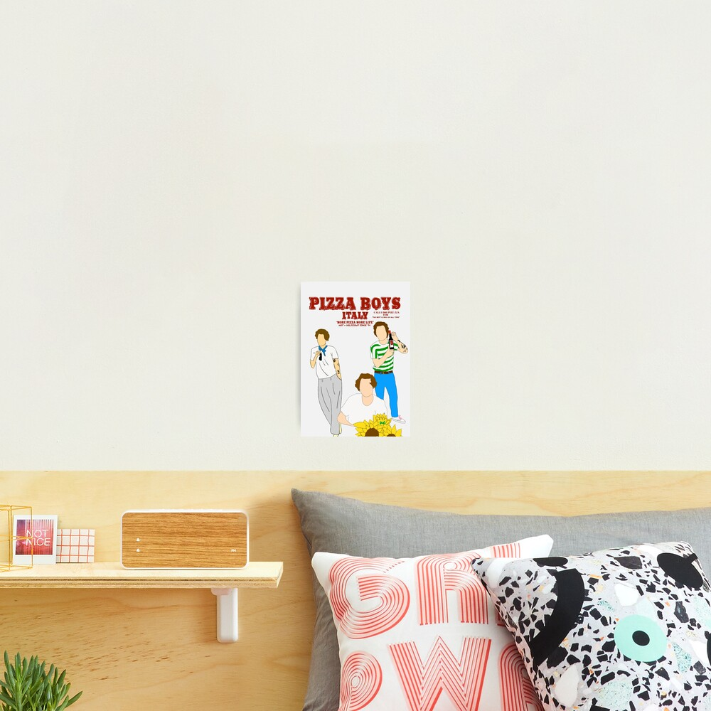 PIZZA BOYS POSTER/PRINT Photographic Print