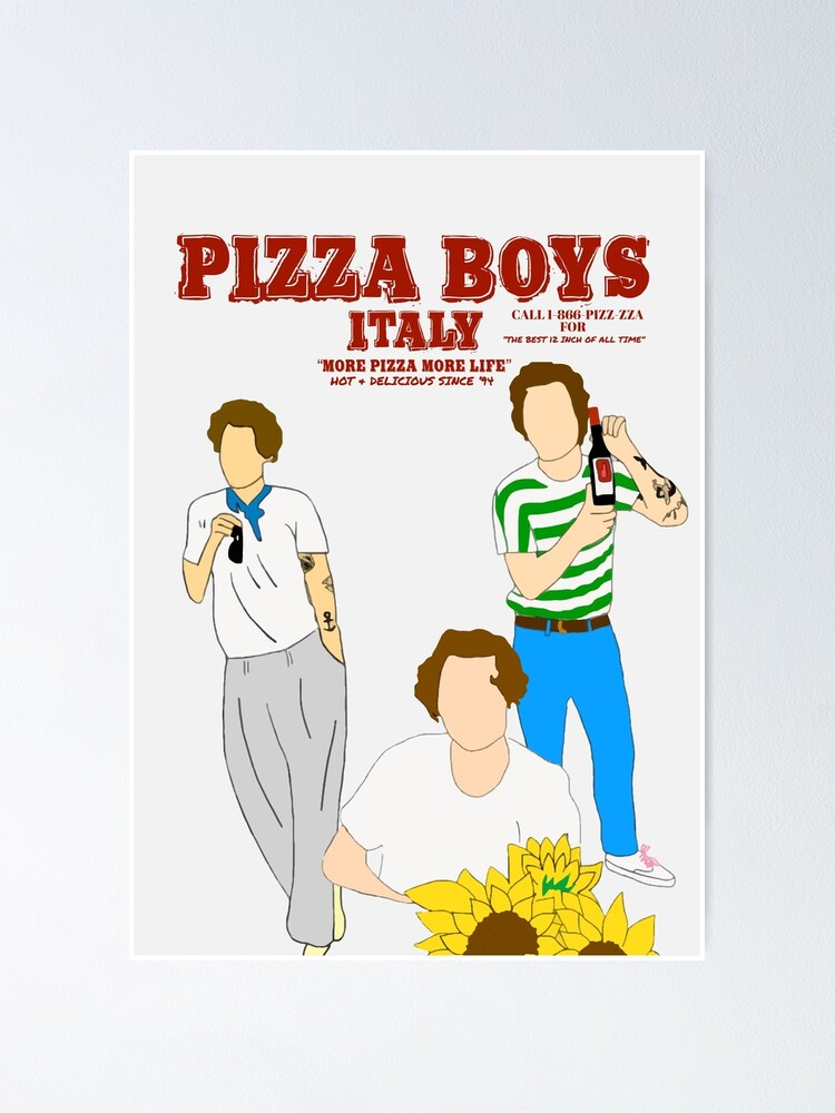 Alternate view of PIZZA BOYS POSTER/PRINT Poster