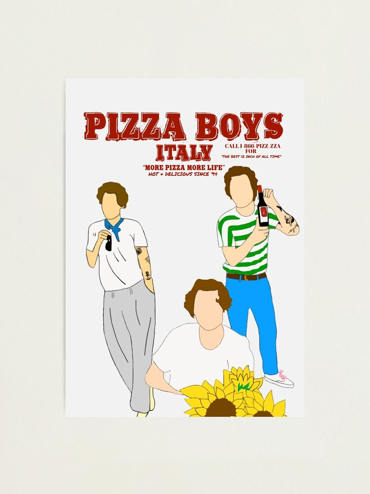 Alternate view of PIZZA BOYS POSTER/PRINT Photographic Print